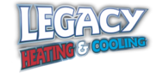 Legacy heating and cooling logo