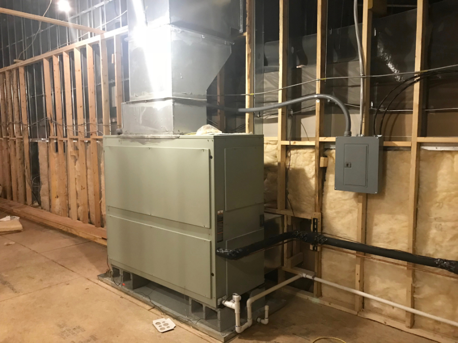 Legacy heating and cooling ac unit