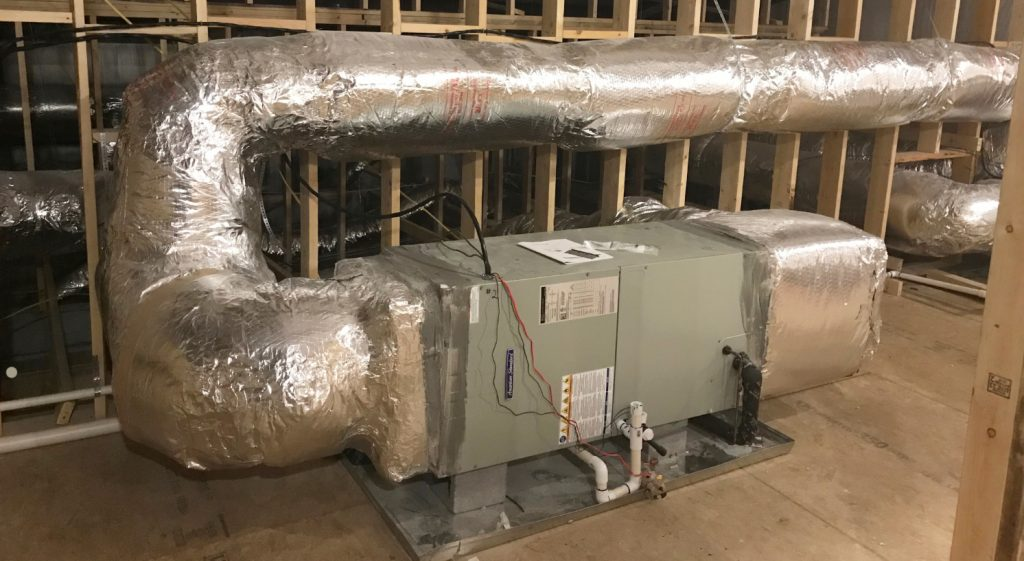 Legacy heating and cooling home installation