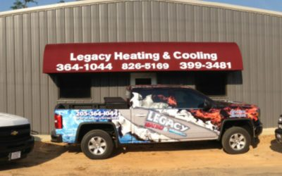 Legacy heating and cooling trucks