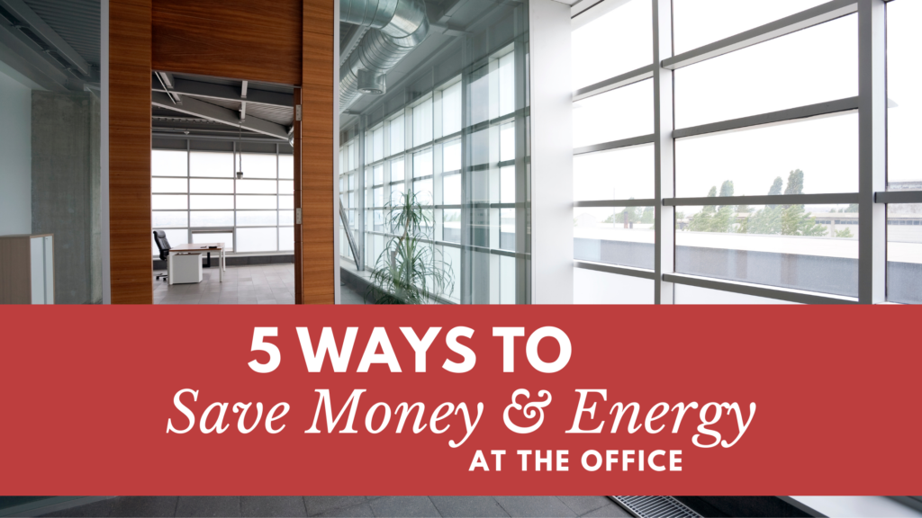 save money and energy