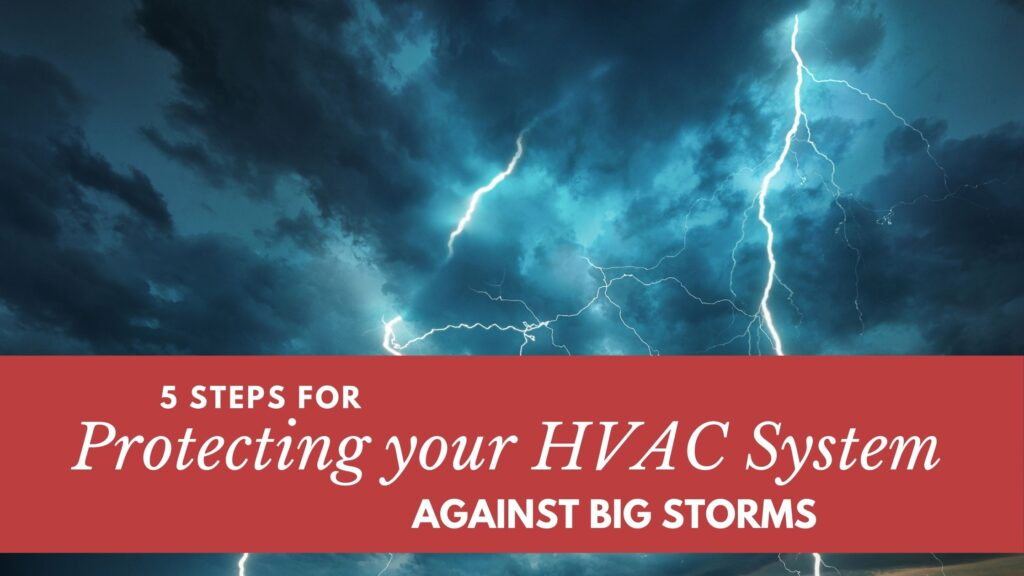 protect your HVAC system against big storms